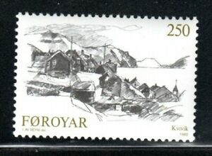FAROE ISLANDS FOROYAR  STAMPS MINT NEVER HINGED LOT 54629