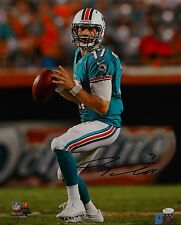 Ryan Tannehill Autographed 16x20 Looking To Pass *Black Photo- JSA Auth