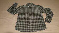 Untuckit Men's Large Long Sleeve Button Down Plaid Shirt Pattern