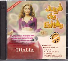 RARE Balada 90s 80s THALIA CD COLECCIONISTAS MARIMAR la vie en rose MUNDO CRISTA