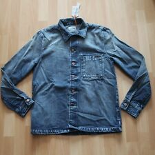 NEU Nudie Jeans,  Hemd Shirt Sten Worn Authentic Denim M