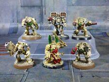 Warhammer 40k Dark Vengeance Dark Angel Deathwing Terminators Painted (GR012)