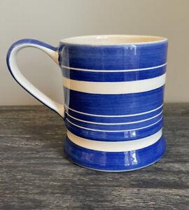 Whittard Of Chelsea Blue White Tea Clipper Tankard Style Mug