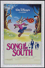 SONG OF THE SOUTH LAMINATED MINI MOVIE POSTER DISNEY A4 PRINT