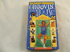 RICHARD SIMMONS GROOVIN in the HOUSE VHS tape