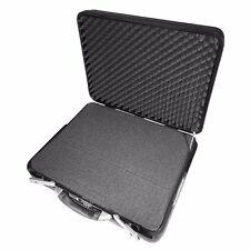XXL Notebook Laptop Computer Präsentations koffer tasche m. Schaumstoffset 69378