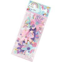 20 x Magical Unicorn Treat Bag Kit Girls Birthday Party Supplies Gift Loot Goody