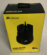 Corsair Ironclaw RGB FPS/MOBA Gaming Mouse - Black Free Shipping