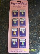 Snow White Complete Character Collectors Series Pin Set