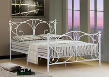 French Country Bed Frames & Divan Bases with Headboard