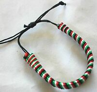 New Palestinian Threaded Bracelet - Palestine Four Colors Flag Wristband