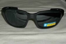 Ironman Sunglasses Courage Polarized Sport Wrap Matte Black Plastic Frame #11
