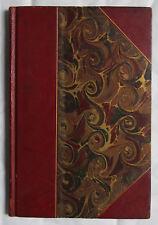 MARCEL IMER LES FOUS POEME STOCK EDITEUR DEDICACE SIGNE 1899 BELLE RELIURE CUIR