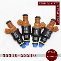 4x 35310-23210 Fuel Injector Nozzle for Hyundai 95-00 Elantra Tiburon 96-01 2.0L