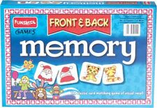 Age 6+ Educational Games Funskool Memory Front & Back Game 2-4 Players