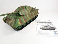 Heng Long 3888-1 German Army King Tiger Panzer Battle Tank SMOKE SOUND BB FIRE