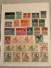 Yugoslavia-Italy 1948-1954 Triest Zone B Vuja Collection Stamps MNH/MLH/USED
