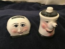 Teapot & Toaster Salt & Pepper Shakers