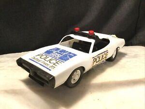 "Vintage Gay Toys #699 Large 12.5"" Dodge Charger Plastic Police Car"