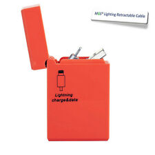 Calidad Carcasa Mechero USB retráctil Datos/Cable De Carga para iPhone 5,6 & 6+