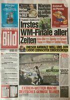BILD Zeitung 16.07.2018 - FRANKREICH - KROATIEN 4:2 - WM-Finale 2018