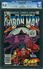 Iron Man #169 CGC 9.8 Marvel 1983 James Rhodes! Avengers! Thor! WP! E11 123 1 cm