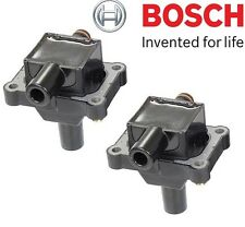 Mercedes W202 C230 Pair Set of 2  Ignition Coils without Spark Plug OEM Bosch