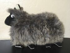 Vintage Classic Sheepskins Sheep Ewe Pillow Cushion Made in New Zealand
