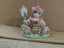 "Calico Kittens Figurine ""You'Re My Feathered Friend Forever"" - Enesco - 1996"