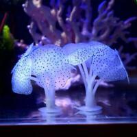 Glowing Effect Artificial Coral   For Fish Tank Aquarium OrnamentD Deco U4O6