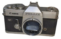 Vintage Canon Pellix 35mm Camera QL for Parts