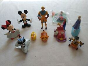 Disney Grab Bag Assorted Characters Lot of 11 Mickey Minnie Frozen Tail Spin