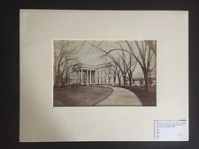 RENOWNED PHOTOGRAPHER: White House Washington DC by Francis Frith Albumen Photo