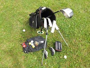 """Golfset Kinder RH Taylor Made """"sauber+gepflegt"""" + Golfbag + viel Zubehör """"top"""""""