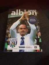 West Bromwich Albion V Manchester United 2013 Soccer/football Programme
