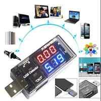 USB Volt Current Voltage Doctor Charger Capacity Tester Meter Power Bank