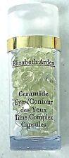 NWOB ELizabeth Arden Ceramide Eyes Time Complex Capsules 30 count .17 FL OZ