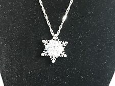 Charming Vintage  Snowflake Pendant