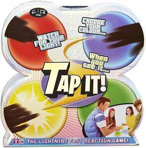 Tap It Light Up Memory Family Game Lightning Fast Reaction Game Christmas Gift