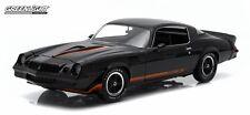 1:18 1979 Chevy Camaro Z/28 - Black with Black Interior Hardtop Greenlight 12905