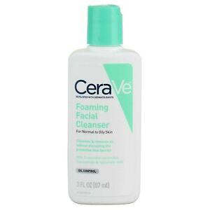 CeraVe, Foaming Facial Cleanser, 3 fl oz (87 ml)