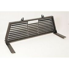 DeeZee DZ95050SLB Headache Cab Rack Black Steel