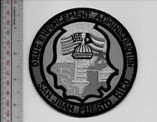 DEA Drug Enforment Administration San Juan Field Office Caribbean Division grey