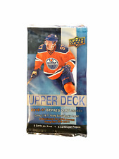 2016 2017 Upper Deck Series 1 Hockey NHL Sealed Booster Pack   5 Cards   1 Pack