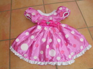 Disney Store Minnie mouse Fancy Dress Girls Costume Dress Up 2 Years
