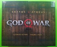 "God of War (2018) KRATOS & ATREUS 7"" Scale Ultimate Action Figure 2 Pack NECA"
