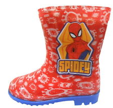 Spiderman Boys Wellington Rain Boots
