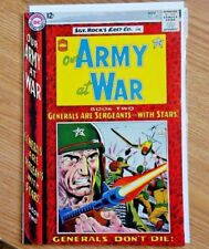 """1964 Our Army at War #148 Sgt Rock Easy Co. """"Rock Becomes General"""" Joe Kubert"""