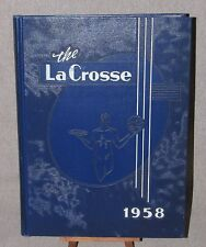 Yearbook The LaCrosse Wisconsin State College at La Crosse 1958 Year Book