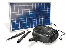 Solar Bachlaufpumpen Komplettset  Garda mit 25 W Solarmodul und Filterpumpe